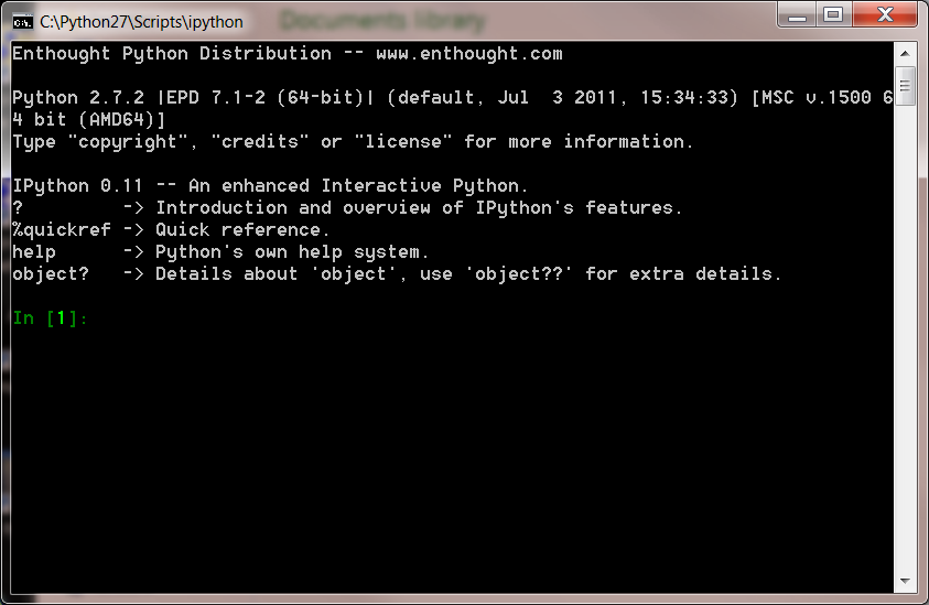 how to run python terminal