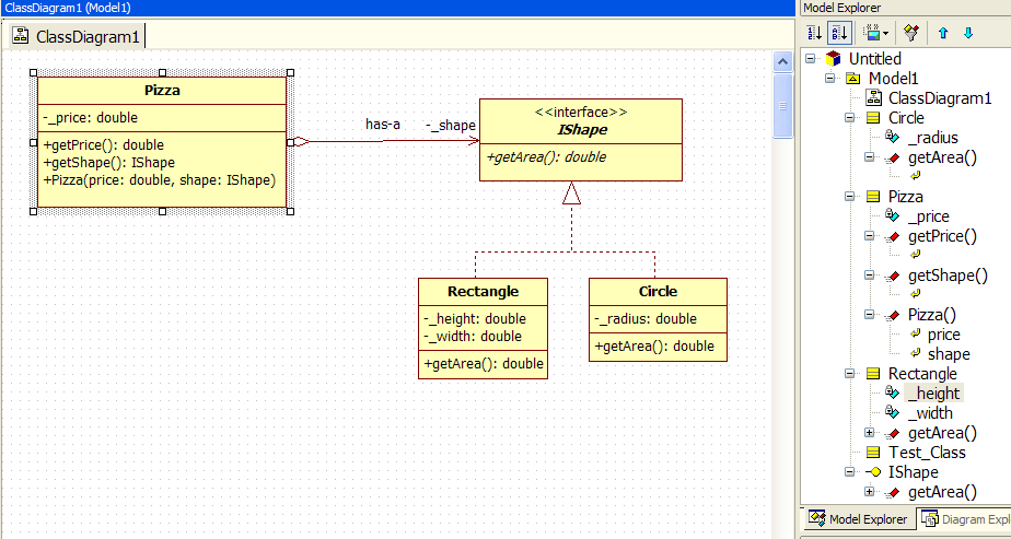 how to go from one interface to another java
