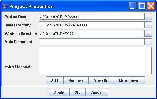 Comp201: Projects in DrJava